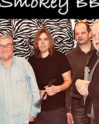 03.03.19. Smokey Bluesband: Sonny Boy Magnusson, Göran Asplund, Pertti Taivainen, Markus Grönroos, Kari Alanko.