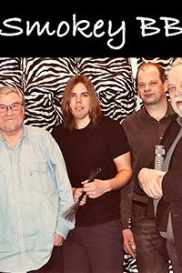 03.03.19 Smokey Bluesband: Sonny Boy Magnusson, Göran Asplund, Pertti Taivainen, Markus Grönroos, Kari Alanko.